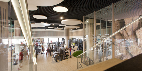 Reebok Sports Club byTeresa Sapey in Madrid, Spain.