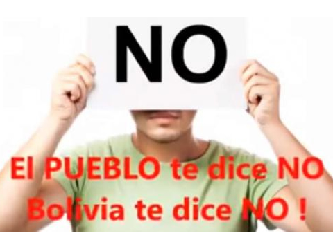 VIDEO: NO A LA REELECCIÓN - VIDEO DE CARA AL REFERÉNDUM