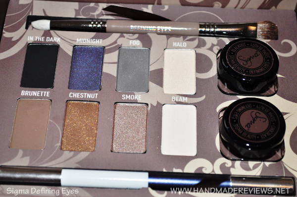 Sigma Defining Eyes Palette Review