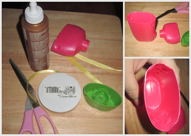 #BetterTogether recycled shampoo bottle