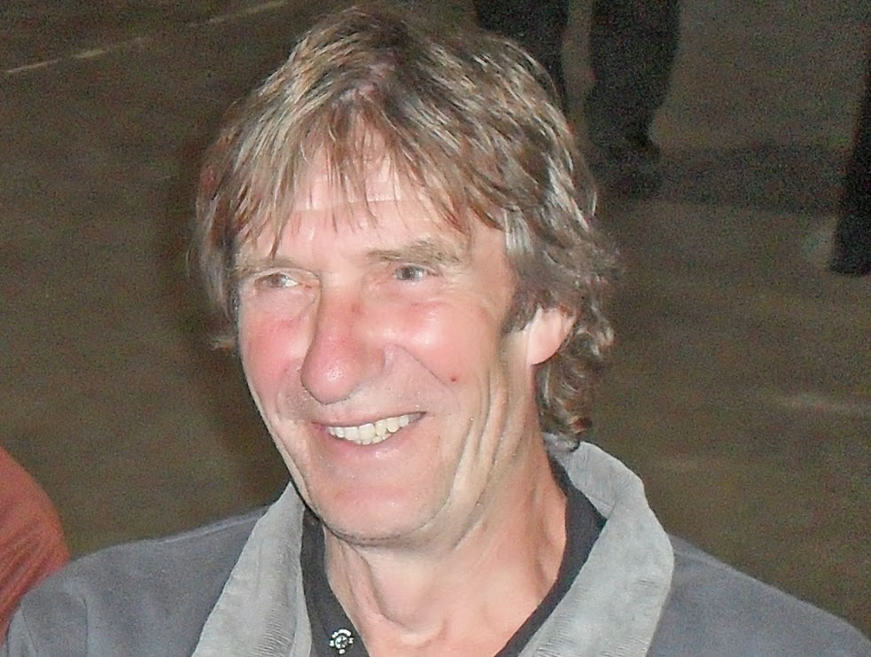 Adrian Gibbons - Sir John Nelthorpe School teacher in Brigg whose death, aged 63, has shocked the community. Picture on Nigel Fisher's Brigg Blog