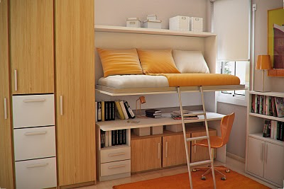 Simple and Minimalist Teen Bedroom Design by Sergi Mengot 10