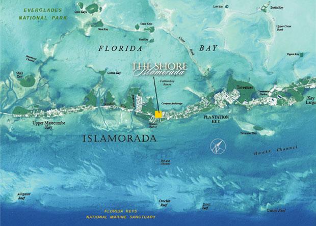 Florida Keys City Map