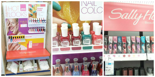 Sally Hansen At Walgreens #IHeartMyNailArt