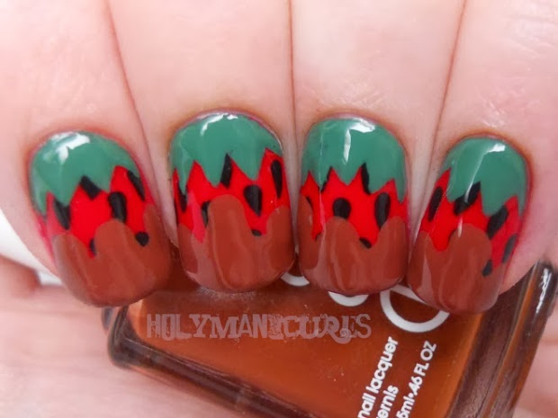 holy manicures chocolate dipped