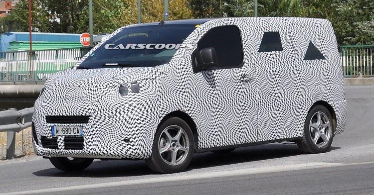 citroen spied testing jumpy van with tubik concept styling. Black Bedroom Furniture Sets. Home Design Ideas