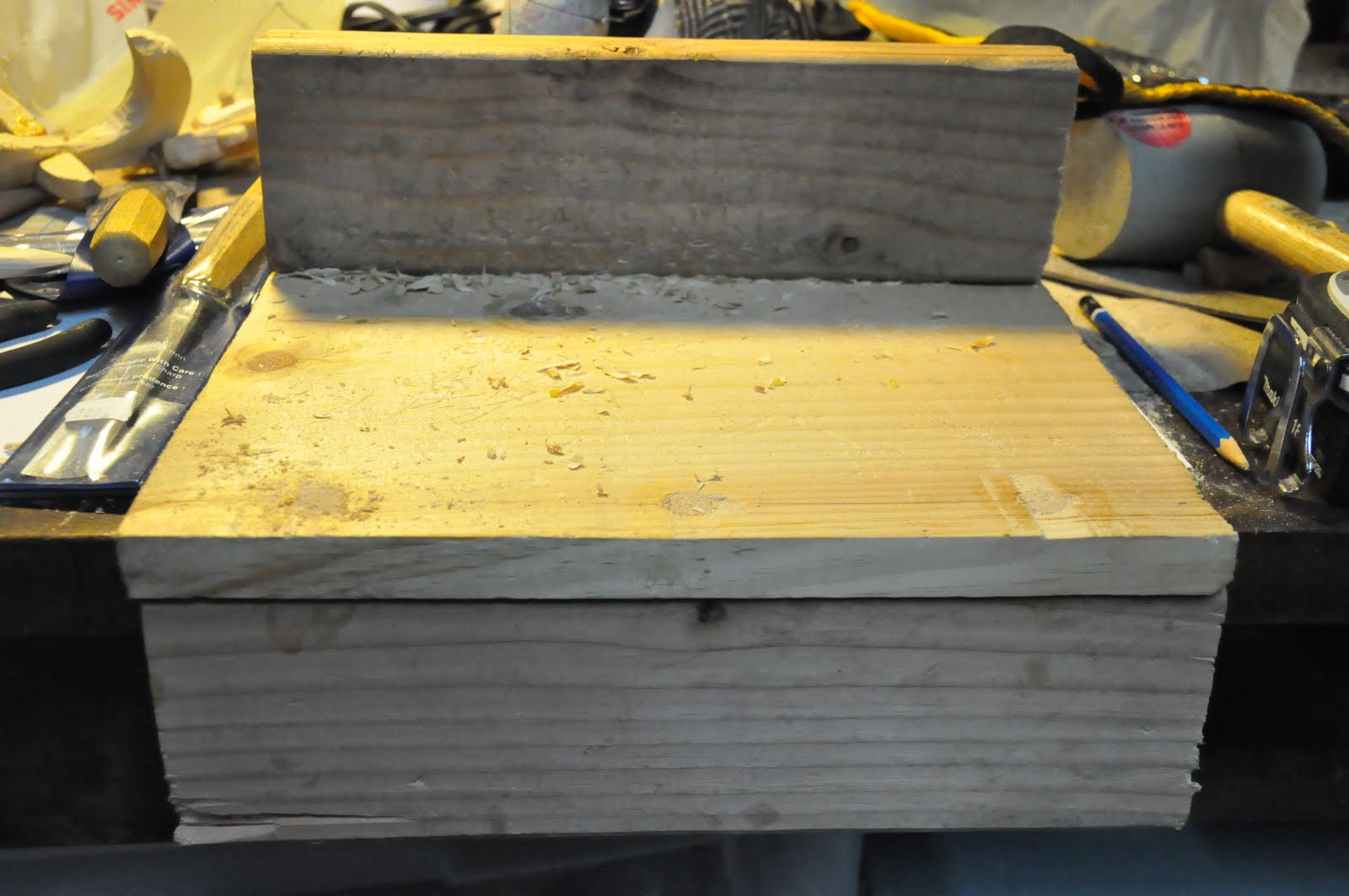 Midden bench hook