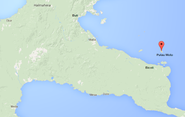 Pulau Woto - Wisata Halmahera Timur