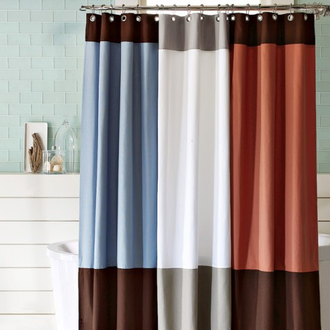 High End Shower Curtains Modern Style Home Ideas