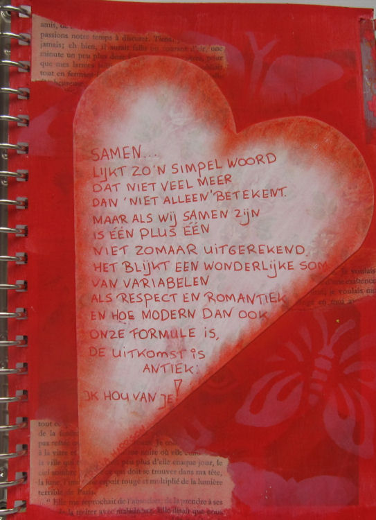 9 maanden samen gedicht