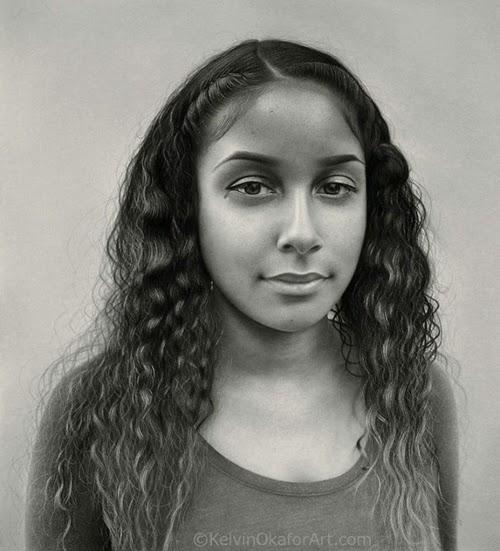 23-Kiran-Kelvin-Okafor-Celebrity-Portrait-Drawings-Full-of-Emotions-www-designstack-co