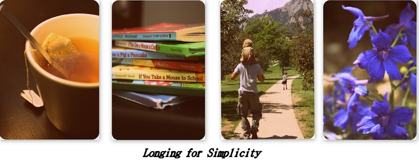 Longing for Simplicity