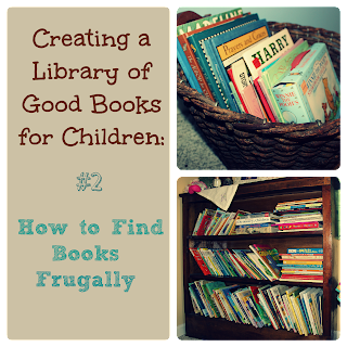 Creating a Library of Good Books for Children {Reading List} Cozy Book Hop Feature