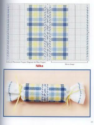 Батончики вышивка крестом 90