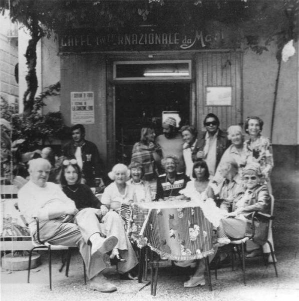 Ischia. La perla del Golfo di Napoli: Galleria di personaggi al Bar Internazionale