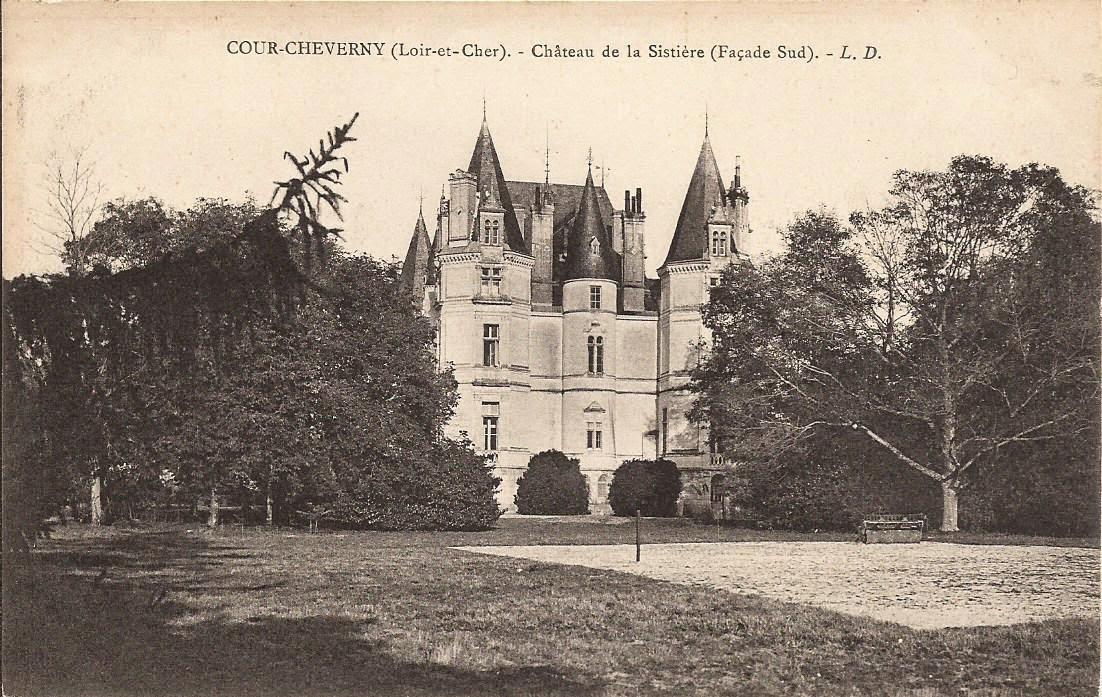 Château de la Sistière - Cour-Cheverny