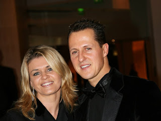 Michael Schumacher Wife Corinna Schumacher