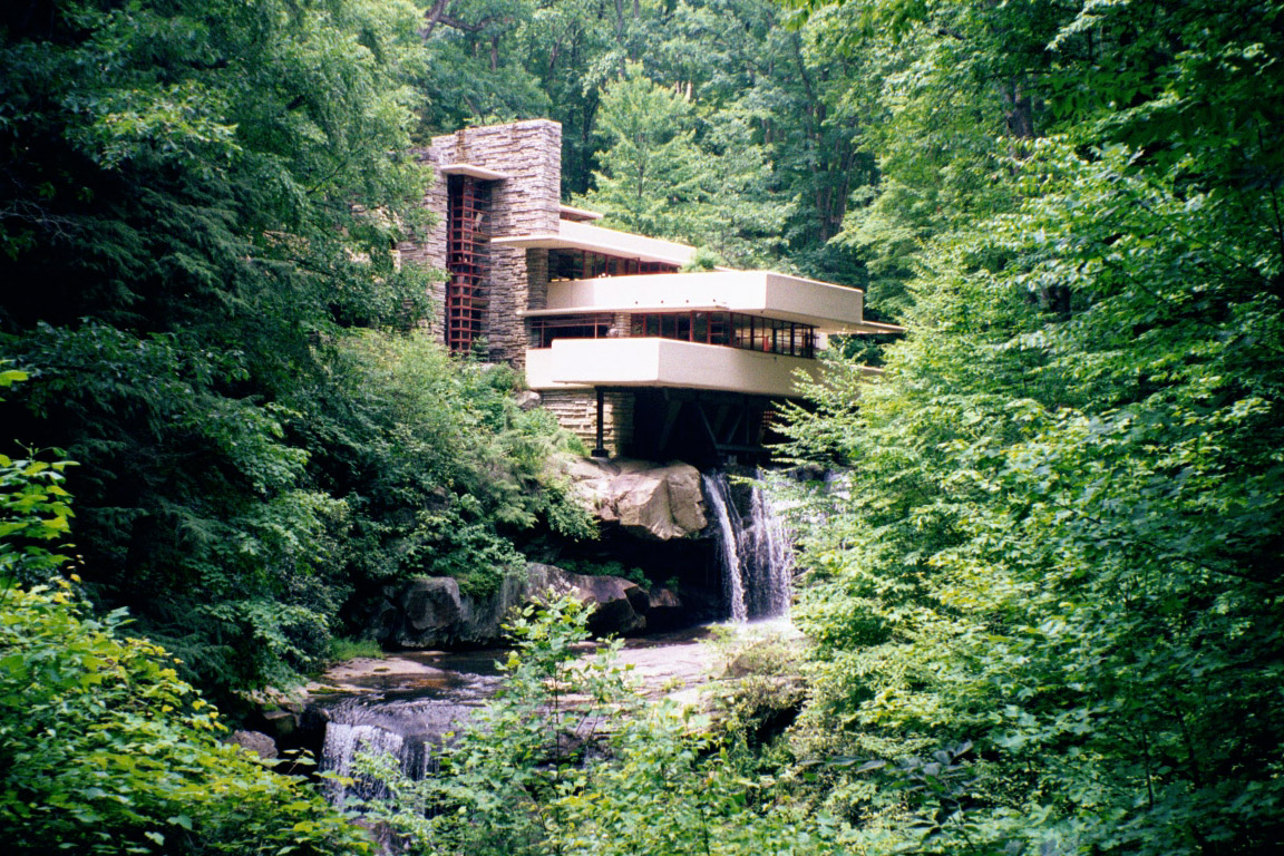 Freud realty the elite real estate blog fallingwater for House built on waterfall