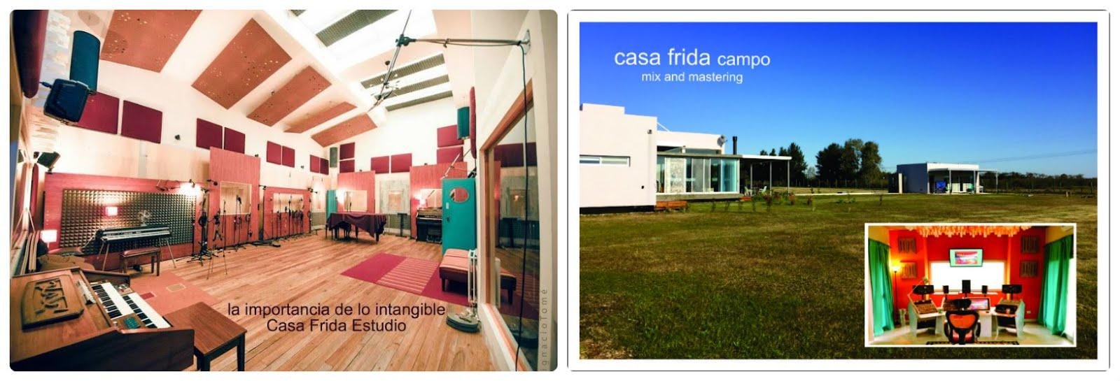 ahora también Casa Frida Estudio Mix and Mastering Campo