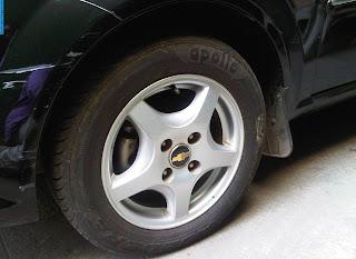 chevrolet optra car 2012 tyres/wheels - صور اطارات سيارة شيفروليه اوبترا 2012