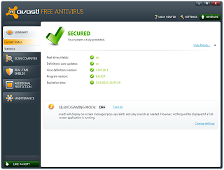 احدث برنامج مضاد للفيروسات مع برنامج Free Antivirus 7.0.1451.2012
