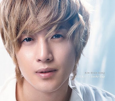 Kim Hyun Joong Debut Japanese Single KISS KISS / Lucky Guy (Japanese Version)