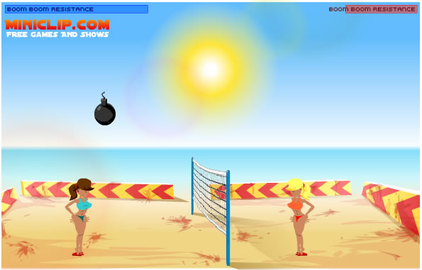 Ball Game : Boom Boom Volleyball