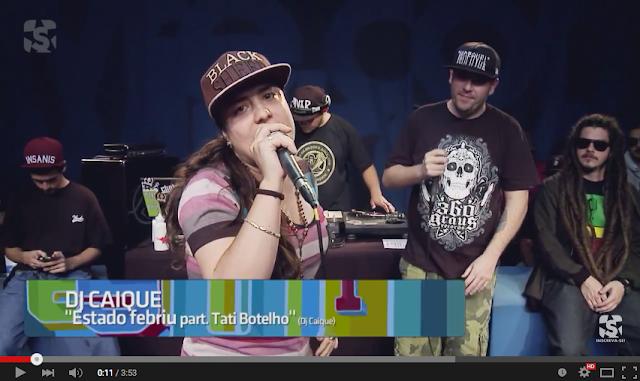"""Vídeo - TATI BOTELHO """"Estado Febril"""" (prod. Dj Caique) #ShowLivre"""