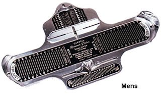 足のサイズの計測器(Brannock Device)