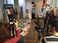 Claudia García presenta su moda en Madrid