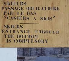 Funny French translation