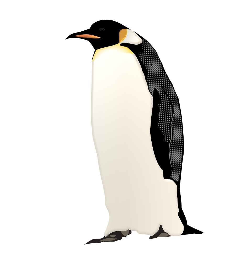 Emperor Penguin in RW Paint