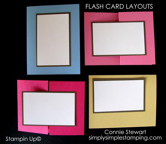 Flash Cards - Video No. 1 & 2 - Simply Simple Stamping