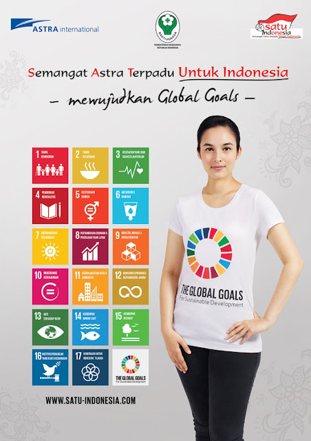 Astra dan Kementerian Kesehatan Kampanyekan Global Goals for Sustainable Development