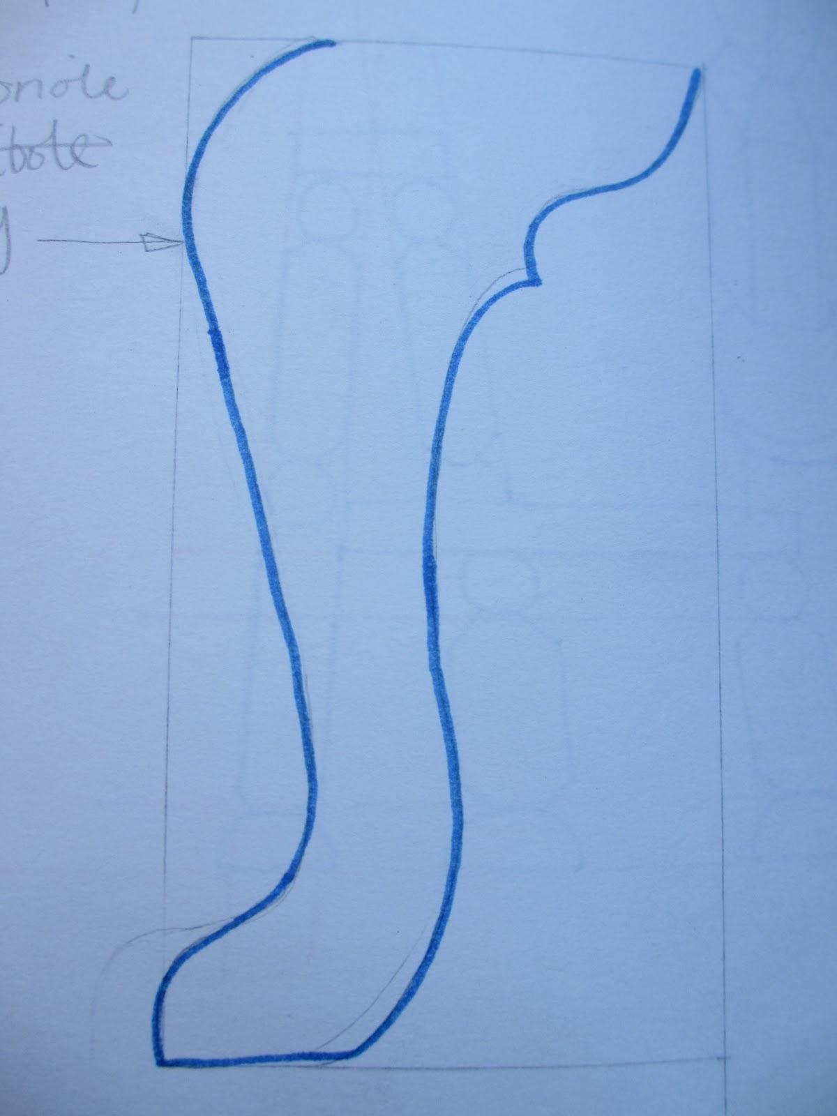 11047492jackschofield unit x post 3 for Queen anne leg template
