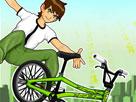 Ben 10 Bisiklet Gösterisi Oyunu