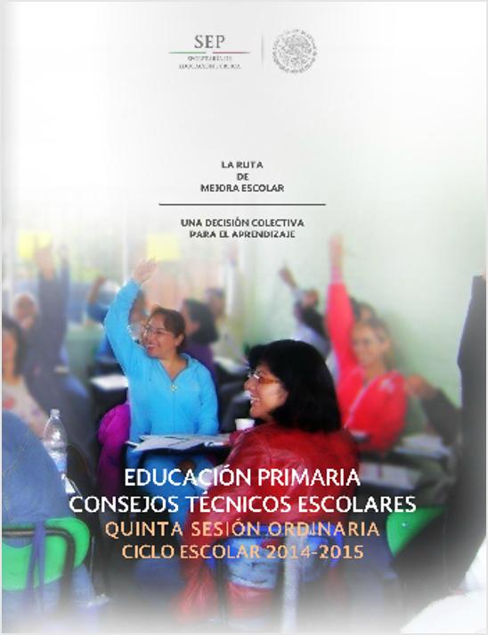 Guía de la 5ta Sesión del CTE PRIMARIA
