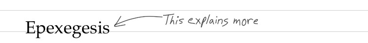 epexegesis