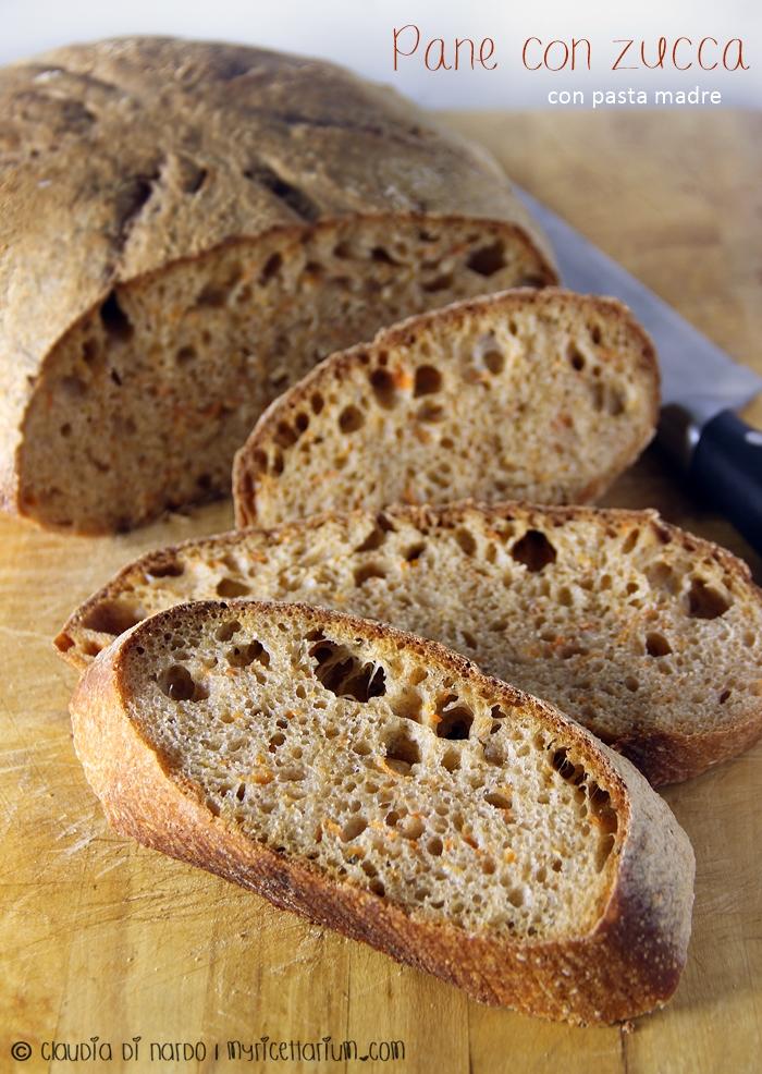 Pane con zucca