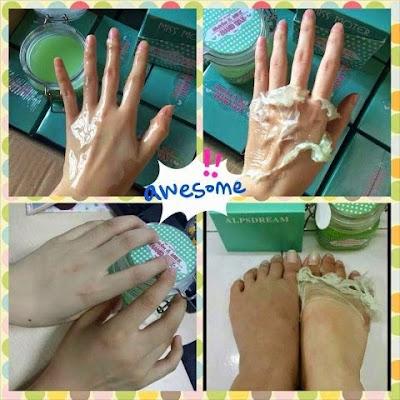 Matcha Milk Hand Wax Murah