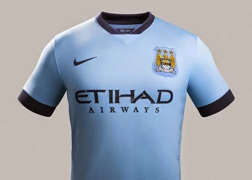 Nike Released 2014/15 Manchester City home kit