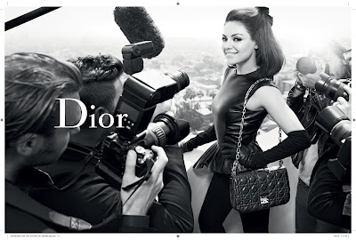 Unveiled: Mila Kunis in New Miss Dior FW 12-13 Ad Campaign
