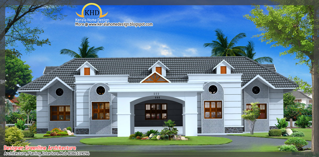 16 Awesome House Elevation Designs Kerala Home Design And Floor Plans