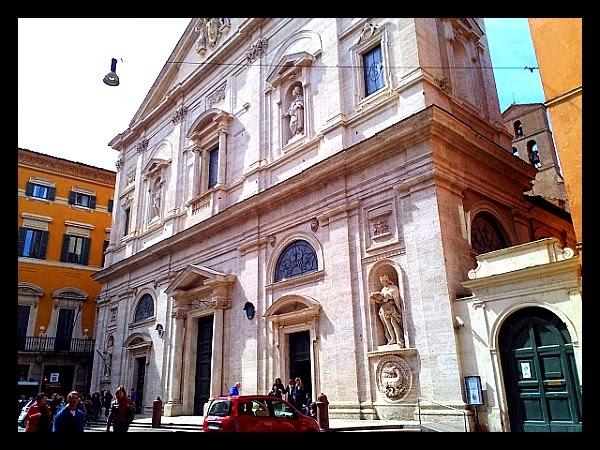 kościół S. Luigi dei Francesi w Rzymie