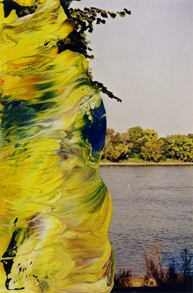 Artistic Odyssey Overpainted Photographs By Gerhard Richter