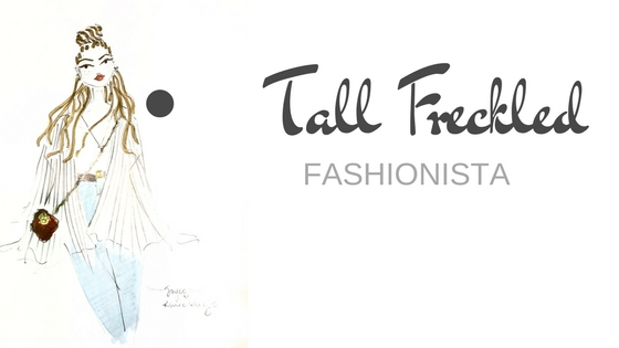 Tall Freckled Fashionista