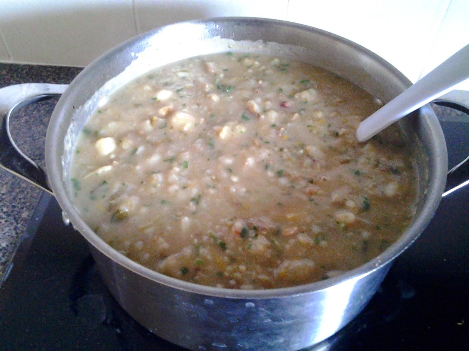 cilantro bacon potato soup