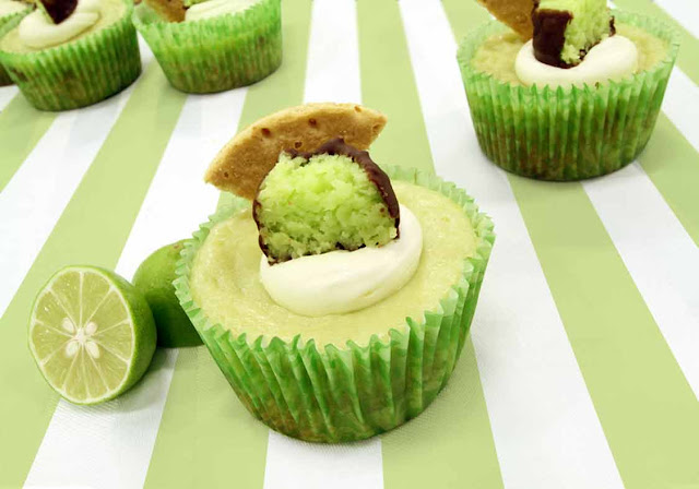 Anastasia Confections Candy Blog: Key Lime Coconut Patties Cupcakes