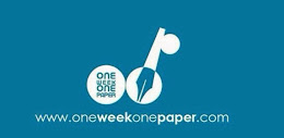 I'm Part Of One Week One Paper