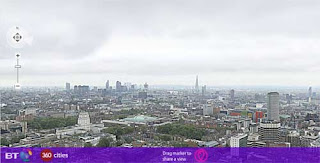 Screen Shot of BTs London Gigapixel Panorama